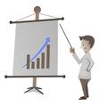 marketing presentation1 vector image