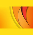 orange and yellow abstract background dark and vector image