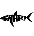 Shark typography vector | Price: 1 Credit (USD $1)