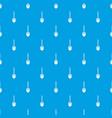 shovel pattern seamless blue vector image vector image