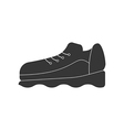 Sneakers shoes icon vector image