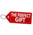 The perfect gift label or price tag