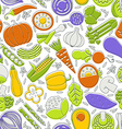 Vegetable Seamless vector image