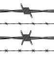 barbed wire collection vector image