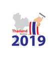 elections thailand 2019 - 01 vector image vector image