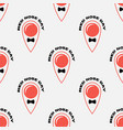 red nose day seamless pattern fun print vector image vector image