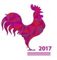 rooster Chinese calendar vector image vector image