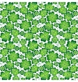 Seamless clover pattern for St Patricks vector image vector image