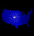 united states celebration vector image vector image