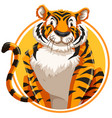A wild tiger logo