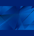 abstract dark blue technical polygonal background vector image vector image