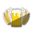 beer and brewery vector image vector image