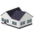 big house icon vector image vector image