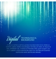 Blue background with light effect vector image vector image