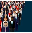 flat of business or politics vector image