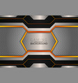 futuristic gaming concept modern style orange and vector image vector image