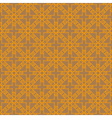 Grey-brown and orange abstract geometric seamless vector image vector image