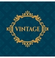 Luxury calligraphic vintage frame with beautiful vector image
