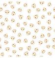 mushroom pattern vector image