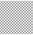 simple seamless lace mesh of the loops black vector image vector image