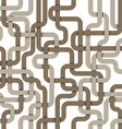 tangled connections seamless pattern vector image vector image