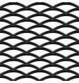 black chrome steel grating seamless structure vector image vector image