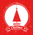 colorful and bright merry christmas background vector image vector image