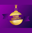 merry christmas greeting card design christmas vector image vector image