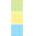Chequered pattern vector image vector image