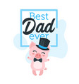 Father day greeting card template