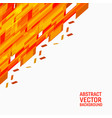 orange geometric abstract background new vector image