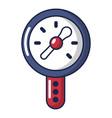 pressure indicator icon cartoon style vector image vector image