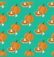pumpkin pie seamless pattern vector image vector image