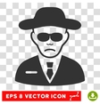 Security Agent EPS Icon vector image