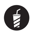 soft drink icon design vector image