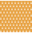 White square pattern on orange background vector image vector image