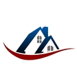 House roof symbol vector image