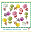 colorful lollipops in hand drawn style game vector image vector image