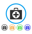 First aid rounded icon
