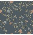 floral vintage seamless pattern vector image vector image