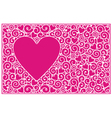 Love cards horisontal vector image vector image