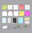 post it note set vector image