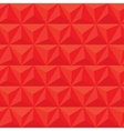 Red geometric triangle seamless pattern vector image vector image