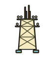 towel energy technology and industrial electric vector image vector image
