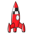 toy rocket vector image vector image