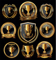 award design badges and labels collection vector image vector image