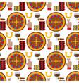 casino roulette gambler joker slot machine poker vector image vector image