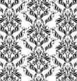 decorative seamless floral ornament vector image vector image