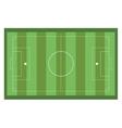 horizontal football field vector image