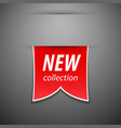 New collection tag vector image vector image